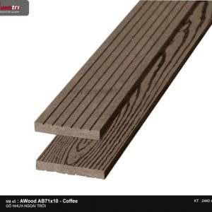 Ốp trần Awood AB71X10-Coffee