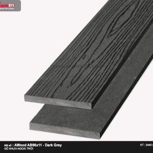 Ốp trần Awood AB96X11-Dark Grey