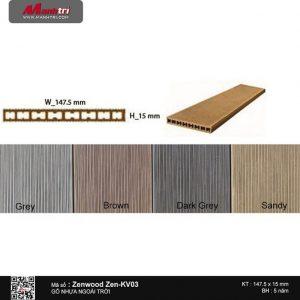 Gỗ nhựa Zenwood Zen-KV03