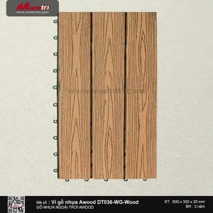 Vỉ nhựa Awood DT036-WG-Wood