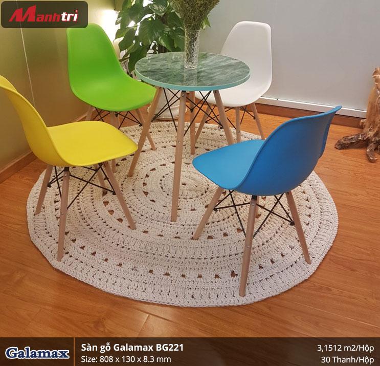 Sàn gỗ Galamax hình 2