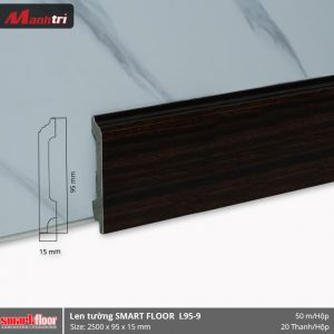 Len chân tường nhựa sàn gỗ L95-9