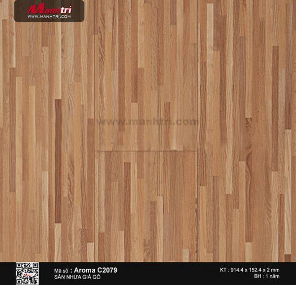 Sàn nhựa Aroma C 2079
