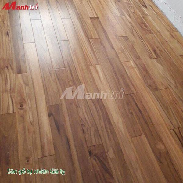 sàn gỗ tự nhiên Giá Tỵ