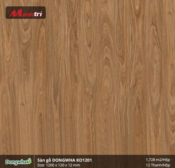 Sàn gỗ Dongwha KO1201 hình 1