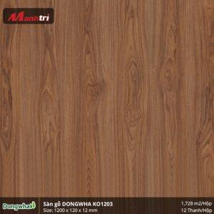 Sàn gỗ Dongwha KO1203 hình 1