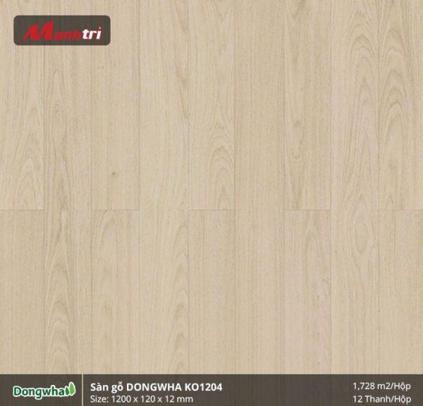 Sàn gỗ Dongwha KO1204 hình 1