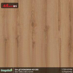 Sàn gỗ Dongwha KO1205 hình 1