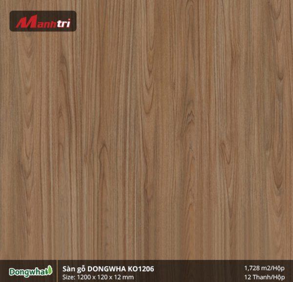 Sàn gỗ Dongwha KO1206 hình 1