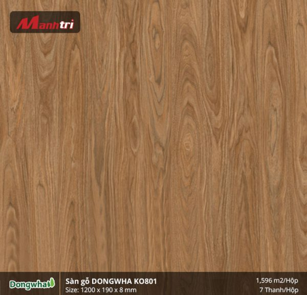 Sàn gỗ Dongwha KO801 hình 1