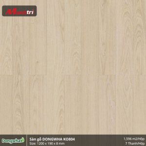 Sàn gỗ Dongwha KO804 hình 1