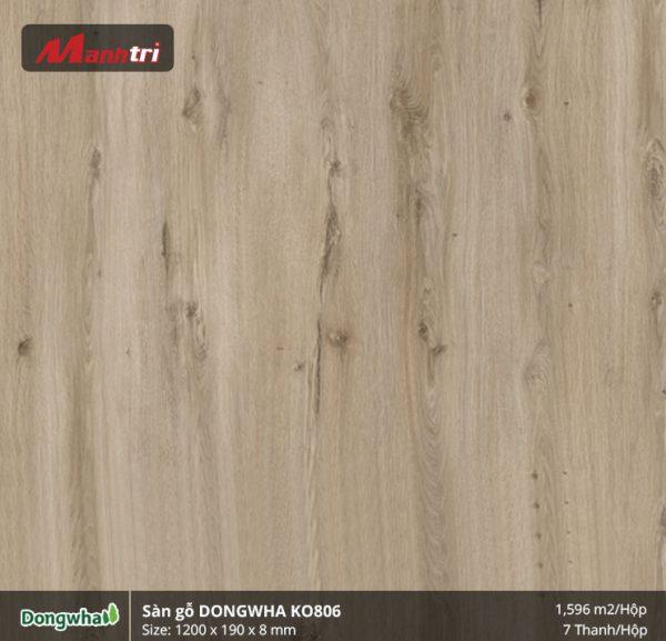 Sàn gỗ Dongwha KO806 hình 1