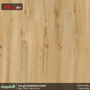 Sàn gỗ Dongwha KO807 hình 1
