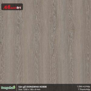Sàn gỗ Dongwha KO808 hình 1