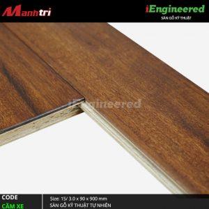 Sàn gỗ kỹ thuật cam xe Engineer 5