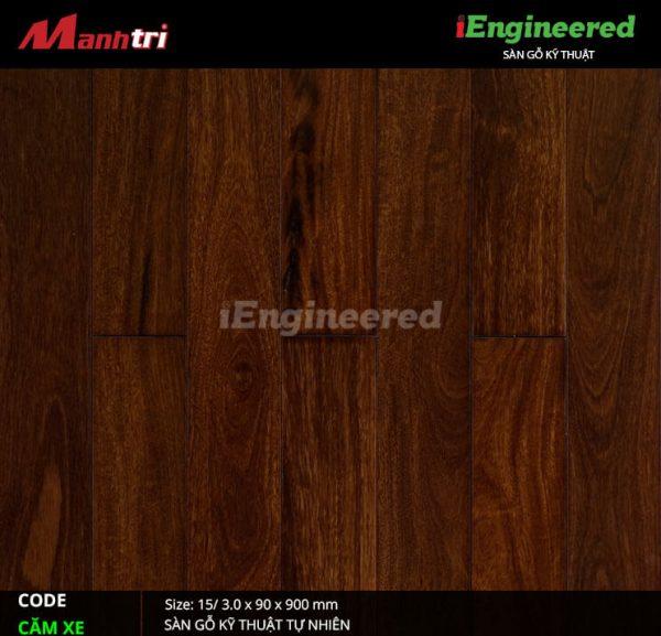 sàn gỗ kỹ thuật căm xe engineer