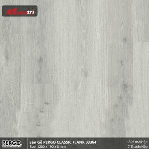 sàn gỗ pergo Classi plank 03364 hình 1