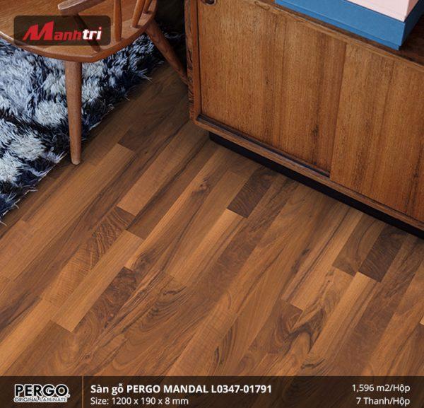 sàn gỗ Pergo Mandal 0179