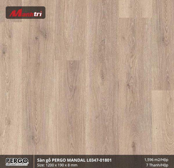 sàn gỗ Pergo Mandal 01801