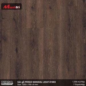 sàn gỗ Pergo Mandal 01803
