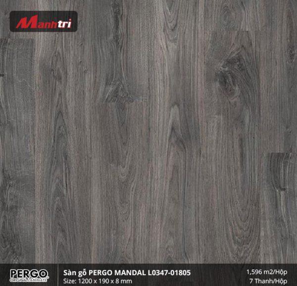 sàn gỗ Pergo Mandal 01805