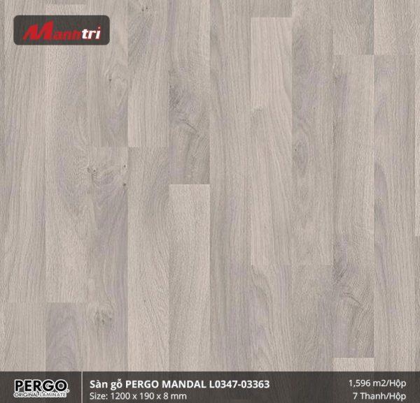 sàn gỗ Pergo Mandal 03363
