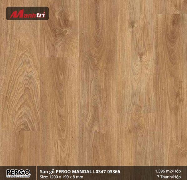 sàn gỗ Pergo Mandal 03366