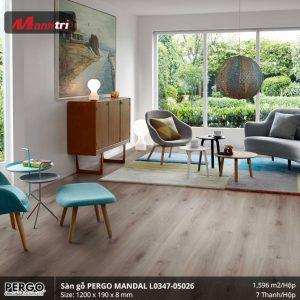 sàn gỗ Pergo Mandal 05026