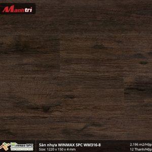 Sàn nhựa hèm khóa Winmax SPC WM316-8 hình 2