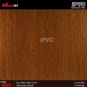 tấm nhựa iPVC 4001