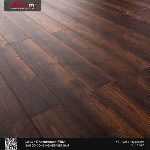 Sàn gỗ công nghiệp Charm Wood E861