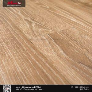 Sàn gỗ công nghiệp Charm Wood E864