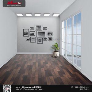 sàn gỗ CharmWood K983 mẫu b