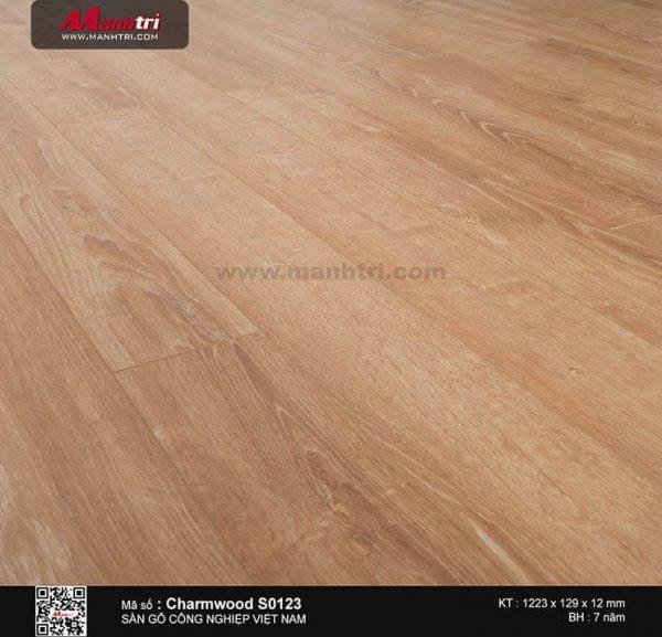 Sàn gỗ Charmwood S0123 mẫu a