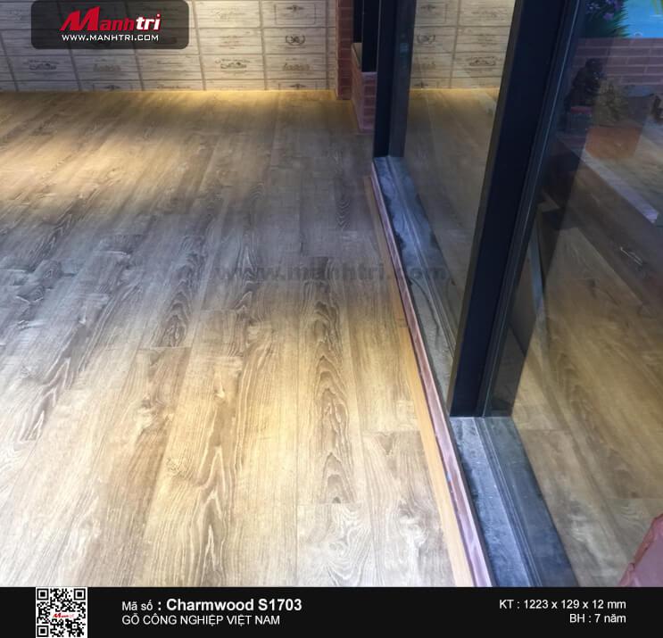 Thi công sàn gỗ Charmwood Hình 2