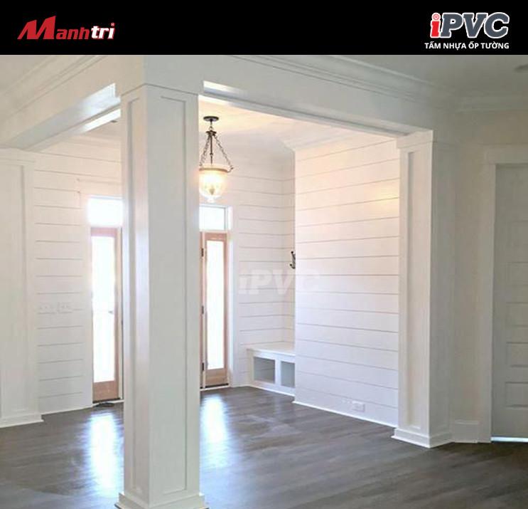 iPVC vân trơn 4025 được ưa chuộng rộng rãi trong hạng mục trang trí nội ngoại thất.