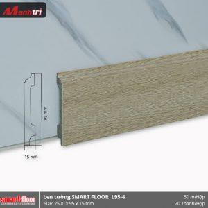 Len chân tường nhựa L95-4