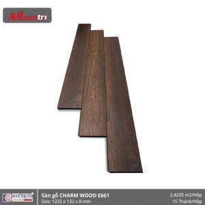 Sàn gỗ công nghiệp Charm Wood E861 hình 1