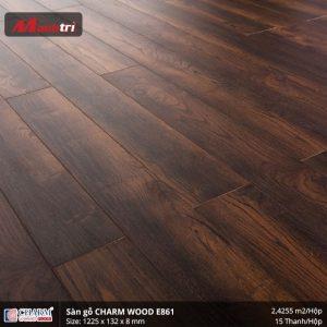 Sàn gỗ công nghiệp Charm Wood E861 hình 2