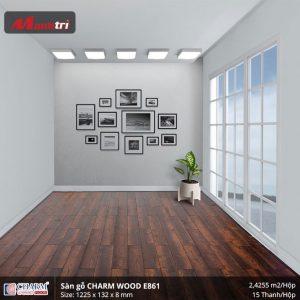 Sàn gỗ công nghiệp Charm Wood E861 hình 3