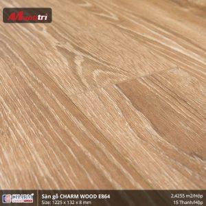 Sàn gỗ công nghiệp Charm Wood E864 hình 2