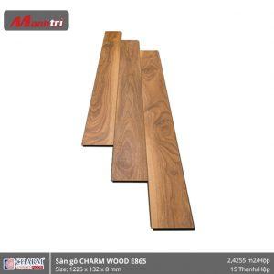 Sàn gỗ công nghiệp Charm Wood E865 hình 1