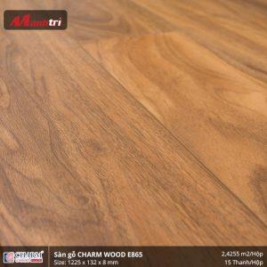 Sàn gỗ công nghiệp Charm Wood E865 hình 2