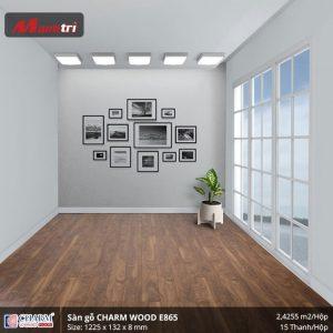 Sàn gỗ công nghiệp Charm Wood E865 hình 3