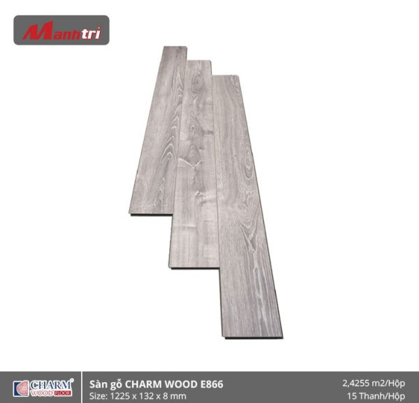 Sàn gỗ công nghiệp Charm Wood E866 hình 1