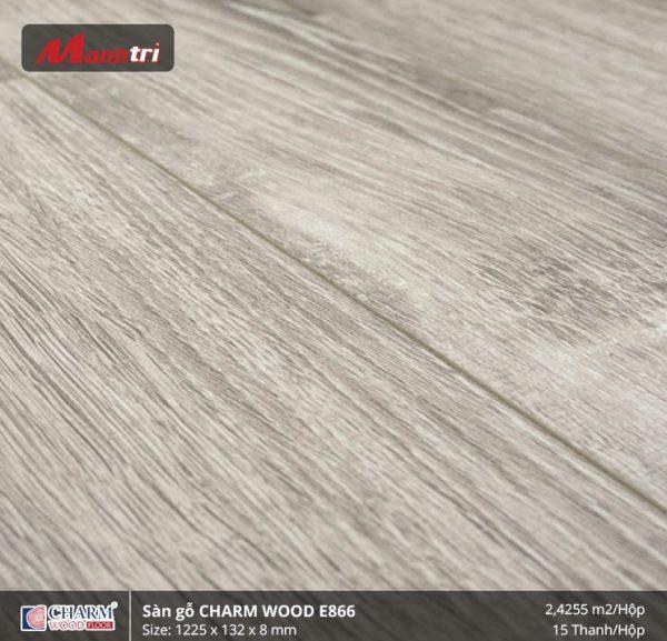 Sàn gỗ công nghiệp Charm Wood E866 hình 2