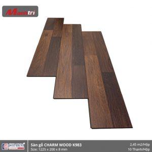 Sàn gỗ công nghiệp Charm Wood K983 hình 1