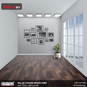 Sàn gỗ công nghiệp Charm Wood K983 hình 2