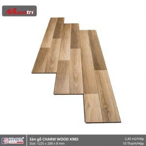 Sàn gỗ công nghiệp Charm Wood K985 hình 1