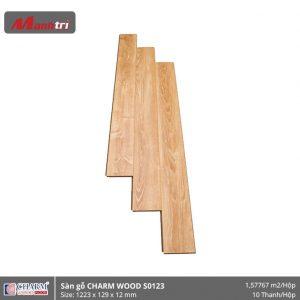 Sàn gỗ công nghiệp Charm Wood S0123 hình 1